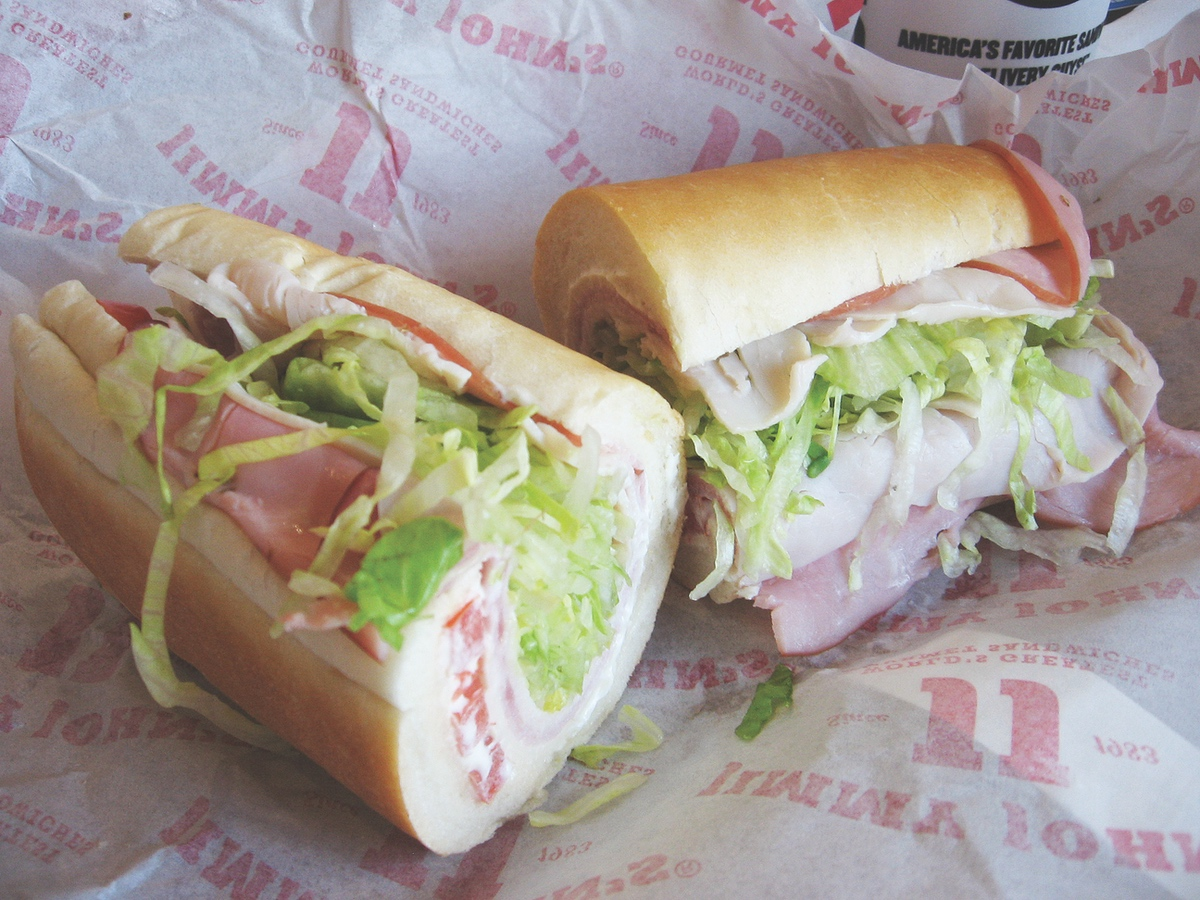 Lunch Bunch Fills Up On Fast And Fabulous Subs At Jimmy John S Johns California Beach Club