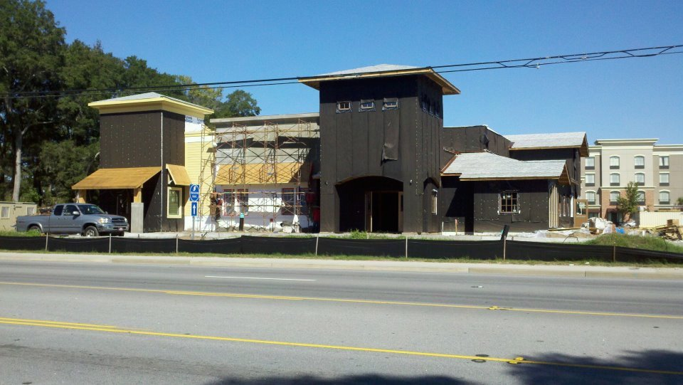 Olive Garden Red Lobster Construction On Track The Island News Beaufort Sc