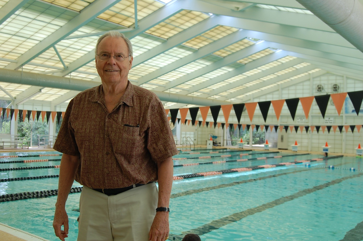 Pete Palmer, 76, is an avid swimmer and is seen at the pool at the Wardle Family YMCA in Port Royal. He is passionate about making sure children in Beaufort County learn to swim.