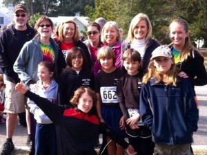 Lady's Island Elementary School showed up in force to compete in the CODA 5K race at Cat Island last weekend.  Guidance Counselor Kelli Harper and Media Specialist Amy Trask both came in third place in their age group. Students Marlon Belden and Nash Mills came in first and second place in their age group and placed in the top ten overall.  Students Connor and Emma Fraser and Teachers Kristin Brady, Stephanie Riedmayer and Jan Samuel completed the race. The Lady's Island Ospreys had a great time supporting a great cause.