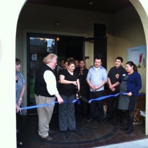 """The Beaufort Regional Chamber of Commerce was pleased to be a part of the official Ribbon Cutting/Grand Opening Ceremony at Mucho Margaritas on Wednesday, January 30 at 5 Sams Point Road on Lady's Island. Those in attendance sampled classic Mexican dishes created by Chef Jose Leon while listening to live tunes from 94.5FM """"The Coast."""" For more information, email Maria Leon at muchomargaritasbft@gmail.com."""