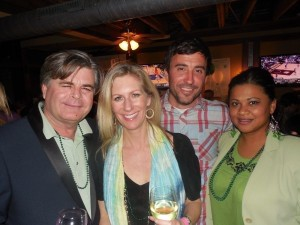Jim Mead, Pennie Mead, Ashley Hefner and Maria Bettle