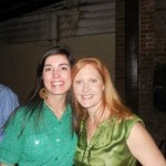 MJ Simmons and Julie Musselman
