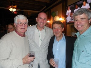 Richard Gray, Chris Conefry, Andy Luckey and Herb Gray