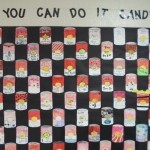 Lady's Island Elementary participated in a schoolwide family art project in support of Candice Glover. Students, parents and staff created Pop Art Campbell soup cans in the style of Andy Warhol. Good luck wishes and messages were written to Candice. The school plans to send the art to her in a few weeks.
