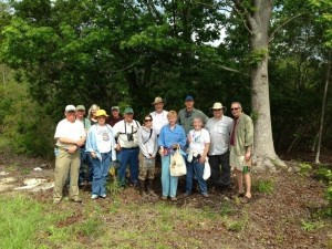 Shown above are members of the Master Gardeners' Association, Master Naturalist Association, Friends of Crystal Lake and the Lowcountry Institute at Crystal Lake Park where they recently conducted an inventory of the plants, birds, reptiles, fish and other creatures that live within the park's boundaries.