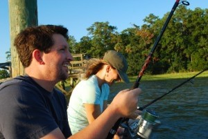 Rob Lewis and Kathryn Madden lead Eco Film Camp.