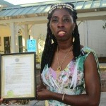 Queen Quet, Chieftess of the Gullah/Geechee Nation, receives a proclamation from the Town of Bluffton recognizing Gullah/Geechee Nation Appreciation Week in Beaufort County. There will be many taking place to celebrate the culture.