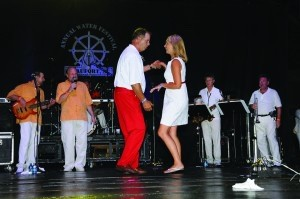 Best night to watch dudes dancing in red pants: Commodore's Ball