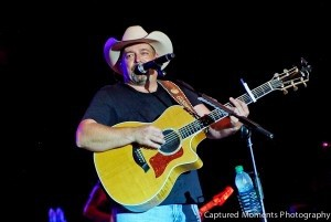 Country music singer Chris Cagle on Saturday, July 20.