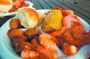 Top pick for pregnant ladies: Lowcountry Supper (where else can you pig out on plates of sausage, shrimp and corn with thousands of other people in the park?)