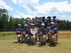 The Beaufort Riptide 10U team earned the title Tournament Champions at the USSSA Father's Day Homerun Challenge in Walterboro, SC, June 15-16, 2013. They went undefeated for four games. Team members participating in the tournament were Cohen Bruner, Joshua Denton, Wes Graves, Oliver Holmes, Hayden Jennings, Christian Londono, Daniel McClam, Collin Peterson, Rush Riley, Jeremiah Simmons,  Rhogue Wallace, and Mason Westerfield. The Beaufort Riptide is coached by Brett Westerfield, Bobby Graves, Jim Denton, Richard Jennings and Al Wallace.
