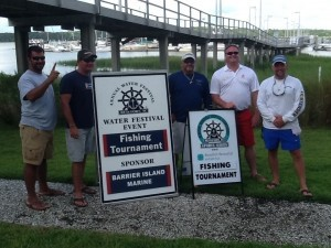 During the annual Water Festival SKA Fishing Tournament held last weekend on Saturday, July 6, Captain Derek Meadows and his crew aboard Double J won the offshore fishing competition, and also took home the prize for $10,000.