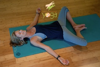 yoga pose of the week reclined cobblers  beaufort south