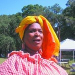 Aunt Pearlie Sue tells stories of the Gullah culture.
