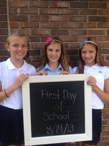 Macy Mullen, Elizabeth Hollaway and Gracy Gecy at Riverview Charter