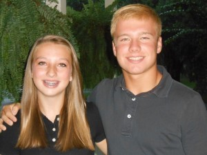 Maggie and Jackson Williams, 9th and 11th Graders at Beaufort High School