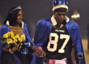 Shiliyah Jones and Yuneek Crittenden were crowned Homecoming Queen and King last Friday night at Battery Creek High School.