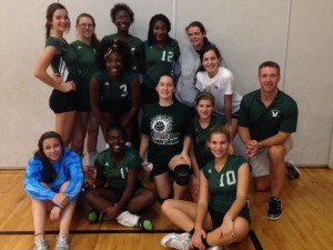 The Beaufort High School Girls Junior Varsity volleyball team won first place in the Silver Bracket last Saturday in The Bluffton Bobcat JV Volleyball Tournament, in Bluffton. The coach is David Shervin.