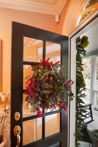 A Christmas wreath from last year's Holiday Tour of Homes. By Sandy Dimke