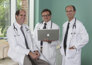 Lady's Island Internal Medicine physicians Robert Vyge, Randy Dalbow and Philip Cusumano provide adult medical care that includes diagnosis and treatment, case management, and coordination of care across the life spectrum.