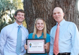 Congratulations to Stewart Trask, a freshman at Beaufort Academy, who was awarded the Winning Orthodontic Smiles Scholarship in the amount of $1,000, by Dr. Skeet Burris and Dr. Travis Fiegle.