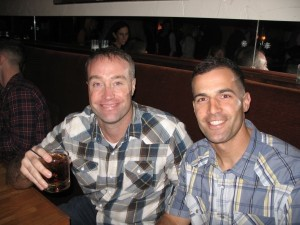 Doug Seich and Steve McClune have been friends for 20 years. They graduated together at U.S. Naval Academy and both are USMC Majors and F-18 pilots at Marine Corps Air Station Beaufort.