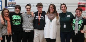 Congratulations to seven Beaufort High School choral students on their acceptance into the South Carolina All-State Choir. Shelby Morris, Kristen Rowell, Lyndsey Betz and Sam McDaniel were selected for the Women's Choir; Christian Sommerville was chosen for the Men's Choir; Olivia Durbin and Shannon Courtney were selected for the Mixed Choir. Kudos to the students and to their director, Jordan Norris. Pictured above, from left: Shelby Morris, Shannon Courtney, Olivia Durbin, Christian Sommerville, Kristen Rowell, Lyndsey Betz and Samantha McDaniel.