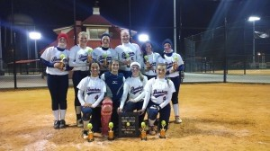 Recently, the 14U Beaufort Bombers finished in first place in the WFC Barnwell Boo Bash. After losing their first bracket game, they swept the rest of the tournament to finish with a record of 7-1. Pictured above, front row, from left: Hannah Rogerson, Bricen Riley, Savannah Mullen, Madison Powell. Back row, from left: Anna Grace Waters, Krislynn Coolong, Michaux Gee, Lillian Sumner, Caroline O'Hara and Emily Cook. Not pictured: Mary Claire Sumner.