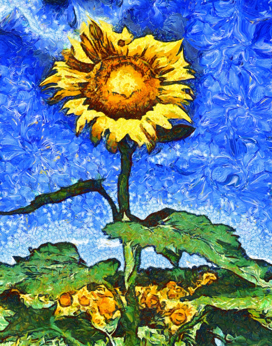 the van gogh sunflowers essay Vincent van gogh was a person with a difficult and dramatic life he was a poor, unknown artist suffering from a mental disease but his perseverance, use of art as a skill to cope with illness, dedication to art, and the support of his brother helped him to keep on painting.