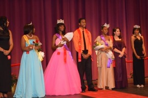 Whale Branch Early College High School's pageant was held Saturday, Nov. 16. Please congratulate the Whale Branch Royalty: Freshman Princesses, Shayla Kitts and Jessica Conn; Miss Freshman, N'kia Alston; Miss Sophomore, Christian Owens; Jr. Miss Whale Branch, Ambriance Lamar; Mr. Sophomore, Damon Hazel; Mr. Senior, Maurice Smith; Mr. Whale Branch, Johnnie Fields; Miss Junior, Cheleen Doe; Miss Whale Branch, Emanie McGhee. Mrs. Vaught thanked those who participated, with a special note to Ms. Hamilton, Ms. Drury, Mr. Drury, Ms. Brown, Mr. Vaught and Mrs. Drake.