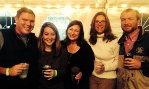Tab Bendel, Ashley Hutchinson, Kristin Bendel, Stacey and Chris Canaday