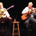 Carroll Brown and Frank Waddell are singers and storytellers.