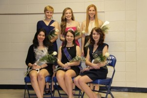Congratulations to Beaufort Academy Senior Madeleine Gray who was crowned 2013-2014 Homecoming Queen on Friday, January 24. The 2013-2014 Homecoming Court, pictured above from left to right, front row: Nicole Schmiege, Madeleine Gray, Autumn Harris. Back row: Carli Cline, Courtney Smith, Miranda Weslake.