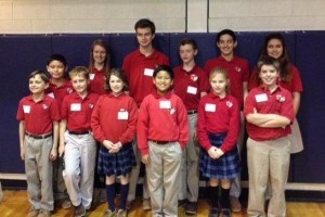 Congratulations to the St. Peter School Spelling Team. The team took two first places during the SCISA Regional Spelling Bee on January 16 The students who placed first will participate in the State Tournament in February.
