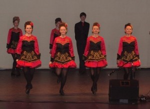 Traditional Irish dancers will perform at the Beaufort Celtic Festival on Saturday, Feb. 22, at ARTworks.