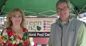 Louise and Dan Hodges, owners of Greenbug, Inc.