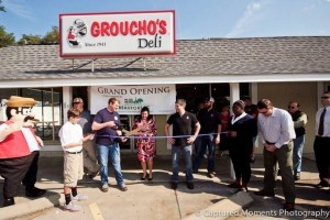 Tuesday, Feb. 18, the chamber held a grand opening and ribbon cutting ceremony for Groucho's Deli of Beaufort, located at 81 Sea Island Parkway on Lady's Island.