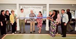 The Grand Opening and ribbon cutting ceremony was held at The Stillness Gym, 1105 Middleton Street on Feb. 18. Pictured, from left: Nikki Hardison, Susan Smith, Louise Hodges, Stephen Murray, Cesar Clavijo, Blakely Williams and Tiffany Singleton. Photo by Captured Moments Photography.