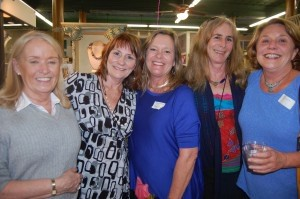 This is what we're all about: A group of friends shopping and having fun together at Island Girls Night Out at Fordham Market. From left: Louise Larches, Peggy Carvell, Mary Accardi, Teri Anderson and Elizabeth Smith.