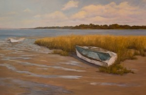"""First Place """"Nantucket .Blue"""" by Cheryl Eppolito"""