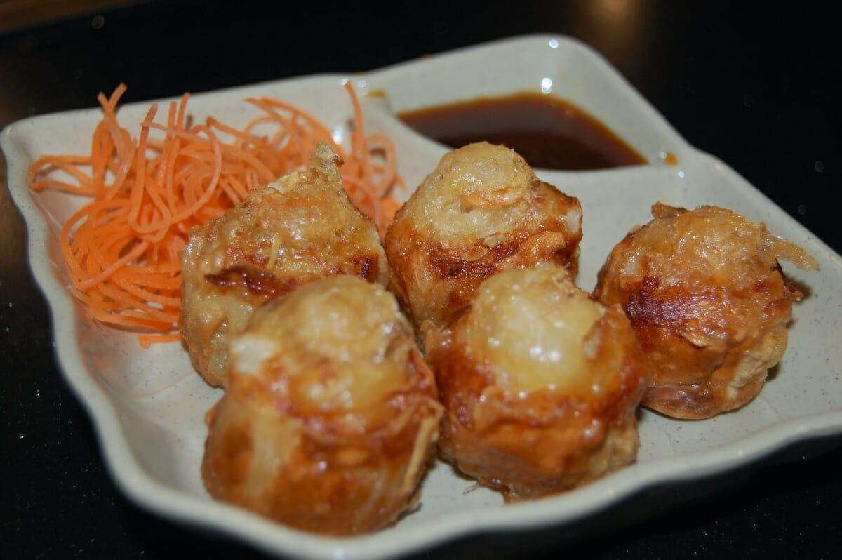 Shumai, shrimp dumplings