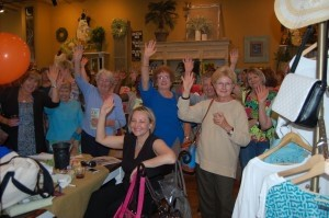 Raise your hand if you read about the event in The Island News!