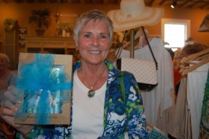 Nancy Rasmussen won a frame from Paints N Paradise.
