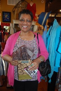 Mary Baise won a mermaid necklace from Seahorse Gallery in Port Royal.