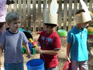 Have you seen the Easter bunny? Students ages 3 to 6 enjoyed an egg hunt on EC Montessori's campus last Friday.