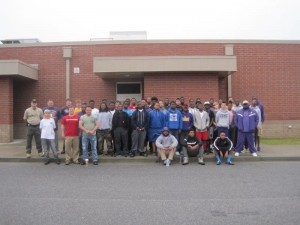 Whale Branch Early College High School Warriors gather with their public private partners for a safe and thorough roadway cleanup Saturday, March 29.