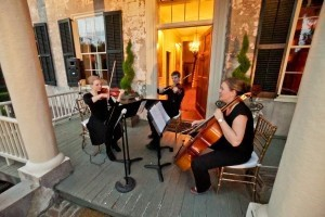 Chamber music at the Lafayette Soiree. Photo by Captured Moments Photography.
