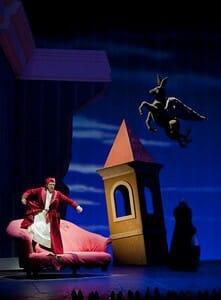 Don Magnifico's crazy dream.