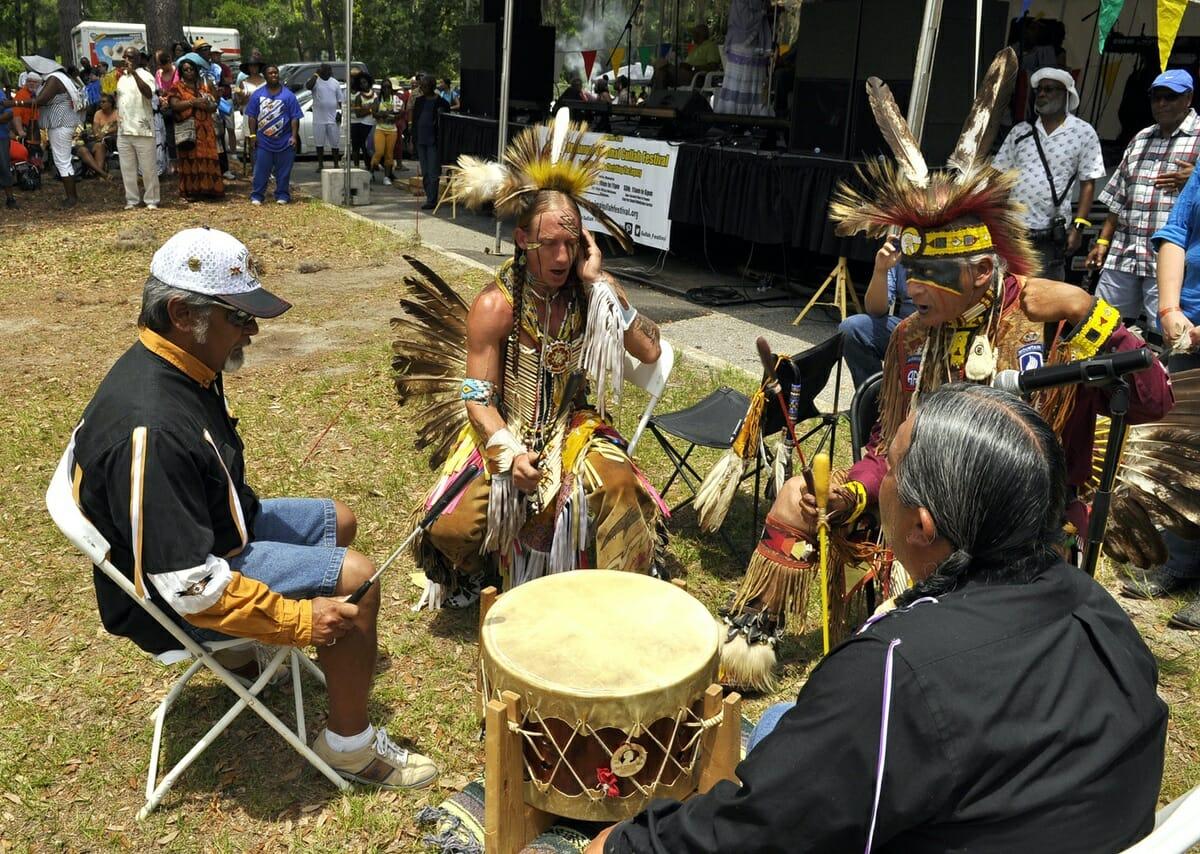 Annual Original Gullah Festival held at TCL – Beaufort ... Kiowa Food